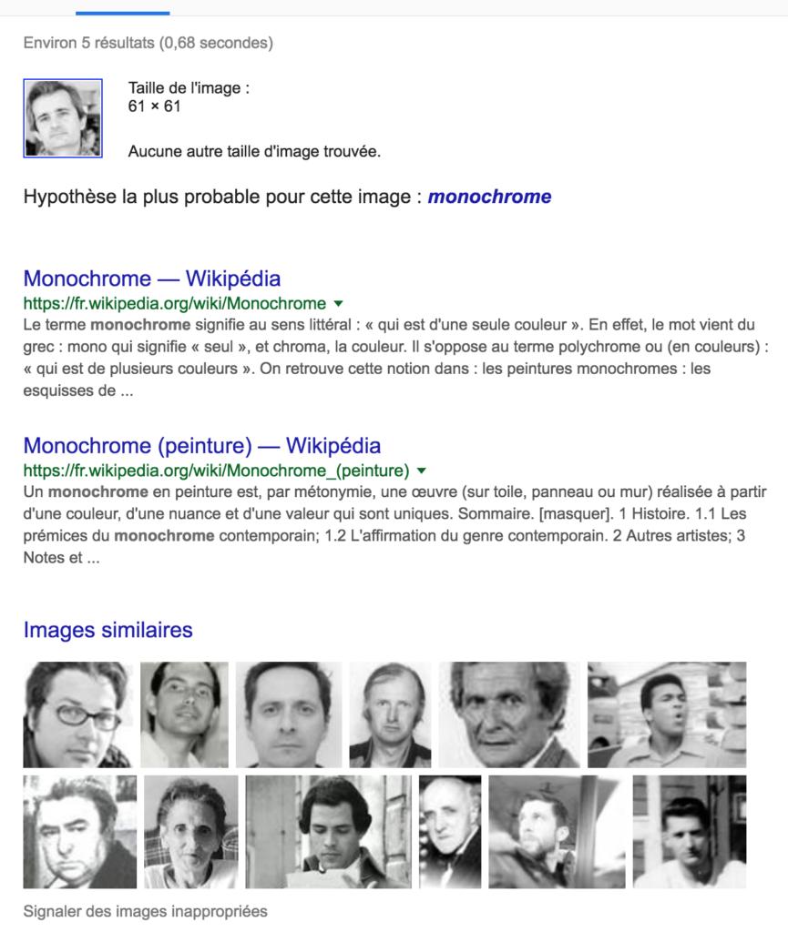 Gilles Bonnet monochrome