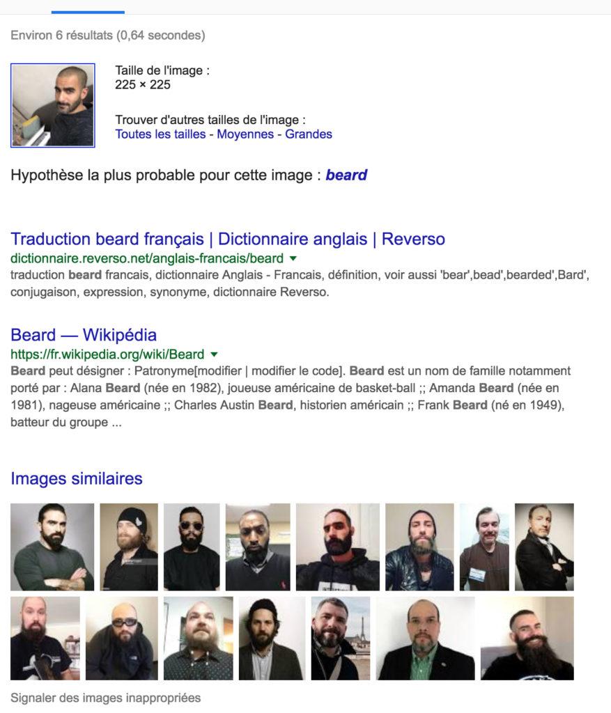 Marc Jahjah beard